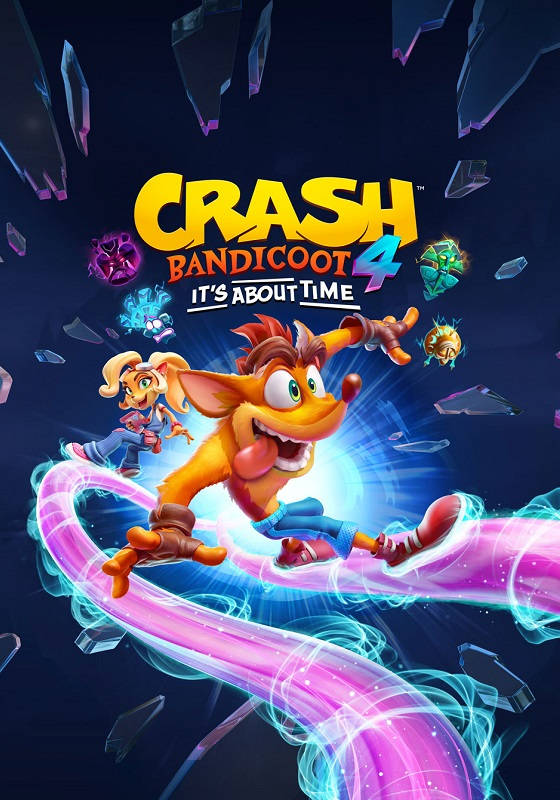 Обложка игры Crash Bandicoot 4: It's About Time