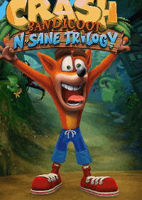 Обложка игры Crash Bandicoot N. Sane Trilogy