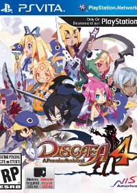 Обложка игры Disgaea 4: A Promise Revisited