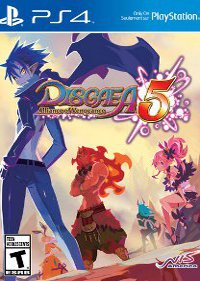 Обложка игры Disgaea 5: Alliance of Vengeance