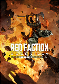 Обложка игры Red Faction Guerrilla Re-Mars-tered
