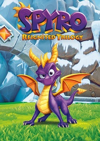 Обложка игры Spyro Reignited Trilogy