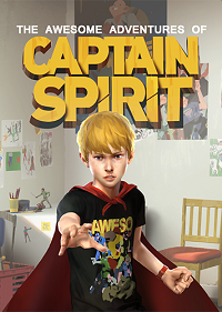 Обложка игры The Awesome Adventures of Captain Spirit