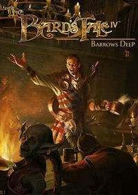 Обложка игры The Bard's Tale IV: Barrows Deep