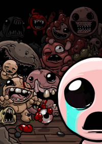 Обложка игры The Binding of Isaac: Rebirth