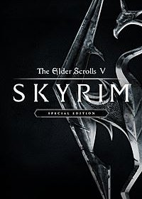 Обложка игры The Elder Scrolls V: Skyrim Special Edition