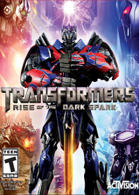 Обложка игры Transformers: Rise of the Dark Spark