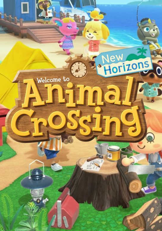 Обложка игры Animal Crossing: New Horizons