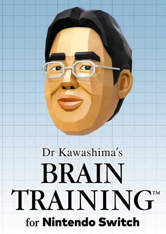 Обложка игры Dr Kawashima's Brain Training for Nintendo Switch