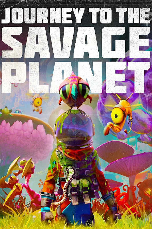 Обложка игры Journey to the Savage Planet