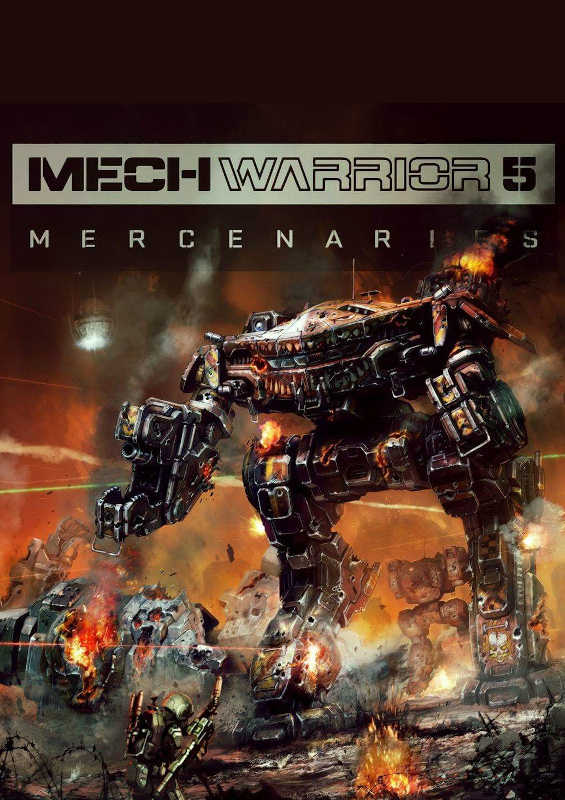 Обложка игры MechWarrior 5: Mercenaries