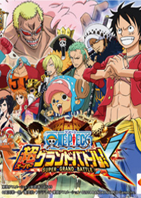 Обложка игры One Piece: Super Grand Battle! X