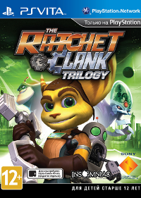 Скриншоты Ratchet & Clank HD Trilogy