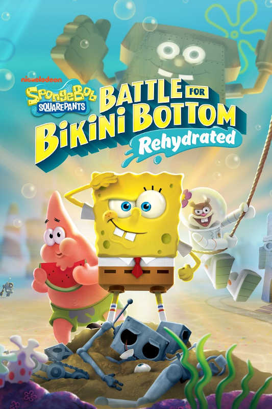 Обложка игры SpongeBob SquarePants: Battle for Bikini Bottom