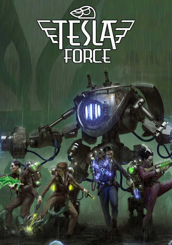 Обложка игры Tesla Force: United Scientists Army