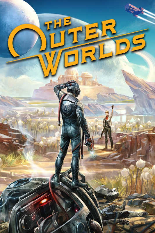 Обложка игры The Outer Worlds